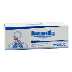 BROMACETIL 15CPR EFFERVESCENTI