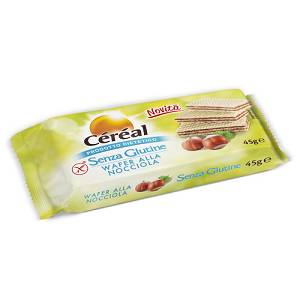 CEREAL WAFER NOCCIOLA S/G 45G