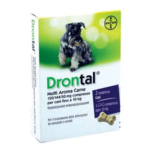 DRONTAL MULTI AR CARNE*2CPR